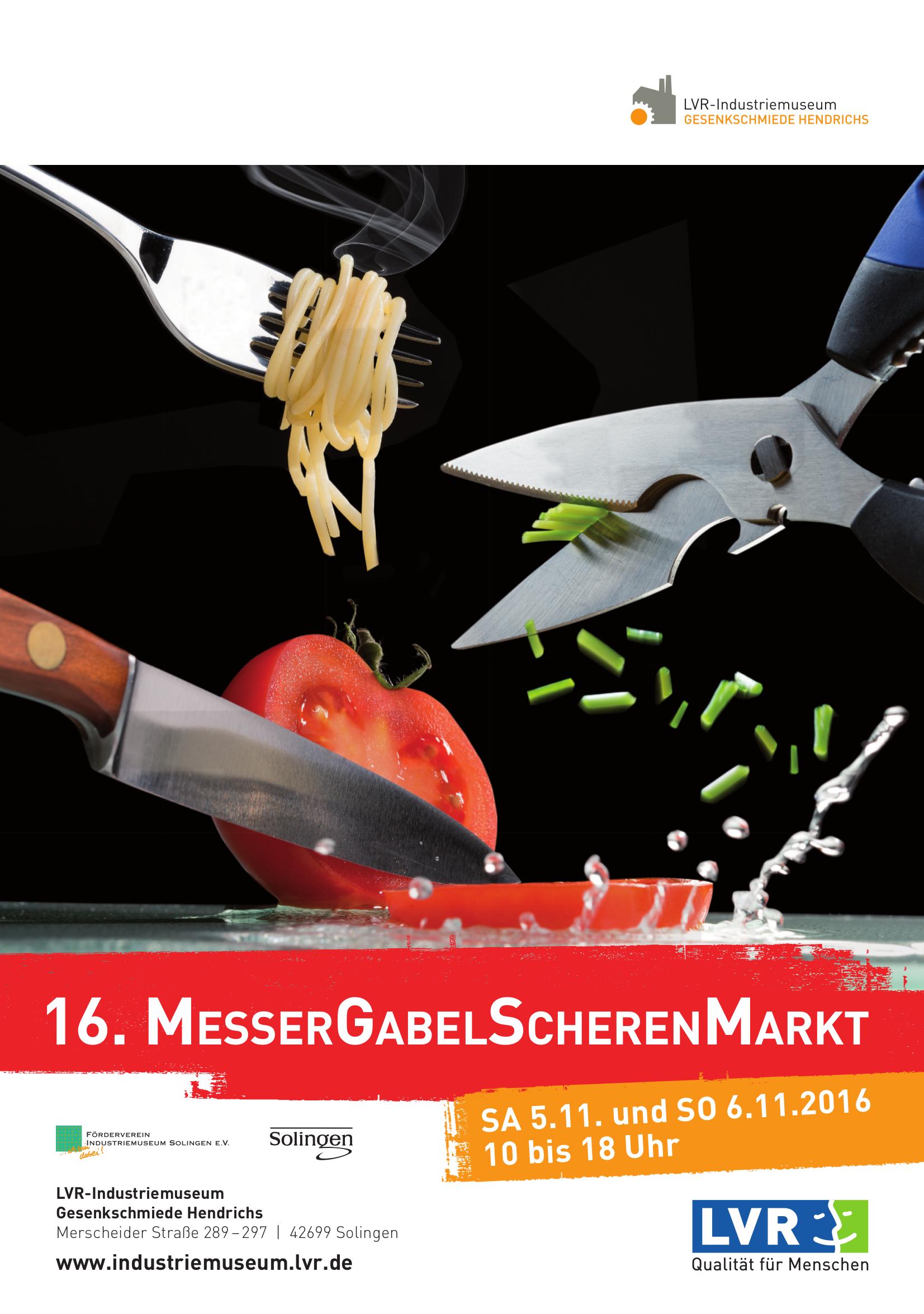 MesserGabelScherenMarkt 2016 - Wir freuen uns auf Ihren Besuch!